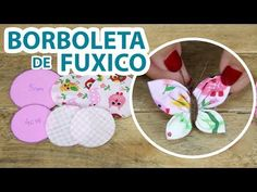 Create and Decorate: Homemade Balloon Bowl For Your Kids To Try This Weekend Fabric Butterfly, Butterfly Crafts, Flower Crafts, Fabric Flowers, Sewing Projects For Beginners, Sewing Tutorials, Sewing Crafts, Cute Crafts, Diy And Crafts