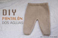 DIY Conjunto bebé parte 1: Cómo hacer pantalones de lana (patrones)