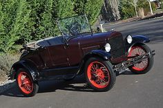 1926 Model T Roadster Warford A Nice Driver Convertible