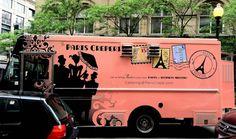 Paris Creperie's award-winning food truck design