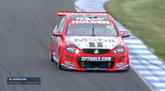 Holden Racing Team Commodore driven by James Courtney
