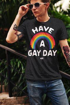 Ont un jour Gay, LGBT T-Shirt, Equal Rights tee-shirt, cadeaux pour lui, T-Shirt graphique LGBT, l'amour est amour chemise, égal amour, Gay droits, lesbiennes