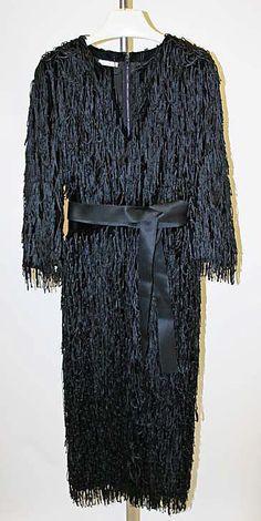 Cocktail dress, Hubert de Givenchy, 1969, The Metropolitan Museum of Art