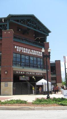 3628155ab64 Baseball Ground of Jacksonville in downtown Jacksonville
