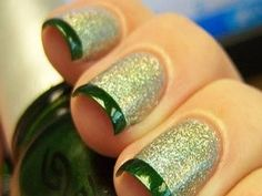 Francesinha silver with green for Christmas.  From a Brazilian site with many designs.