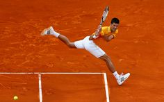✶Novak Djokovic of Serbia in action against Tomas Berdych of Czech Republic in the final during day eight of the Monte Carlo Rolex Masters Tennis Tournament✶