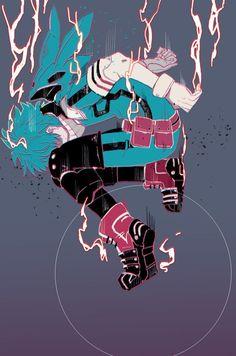 [My Hero Academia] Izuku Midoriya Boku No Hero Academia, My Hero Academia Memes, Hero Academia Characters, My Hero Academia Manga, Manga Anime, Anime Art, Anime Love, Anime Guys, Photo Manga