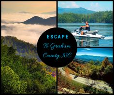 Escape to the Western North Carolina Smoky Mountains of Graham County for outdoor fun and natural beauty!