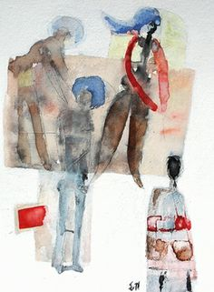 "Saatchi Online Artist Scott Bergey; Painting, ""No Obligation"" #art"