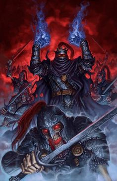 Lord Loren Soth of Dargaard Keep, Lord of Nedragaard Keep, the Knight of the Black Rose, Darklord of Sithicus Ravenloft Dragonlance Dungeons And Dragons Art, Fantasy Characters, Death Knight, Fantasy Artwork, Dark Fantasy, Fantasy Images, Fantasy Warrior, Fantasy Creatures, Sword And Sorcery