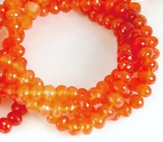 Full 8.5 inches strand grade AAA Quality Carnelian by JWbeads, $27.80