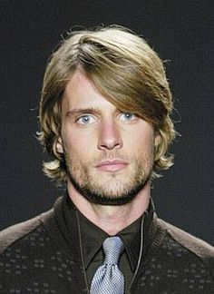 Men's Hairstyles - Medium Length Hairstyles / like the hair and beard..
