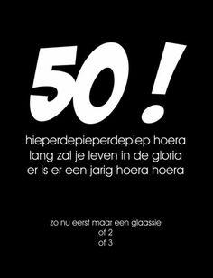 Etiket 50 hieperdepiep   ET004 Happy Birthday, Company Logo, Logos, Happy Brithday, Urari La Multi Ani, Logo, Happy Birthday Funny, Happy Birth