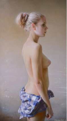 2014 farm girl by Serge Marshennikov Hyper Realistic Paintings, Oil Portrait, Russian Art, Poses, Figure Painting, Woman Painting, Figure Drawing, Figurative Art, Female Art