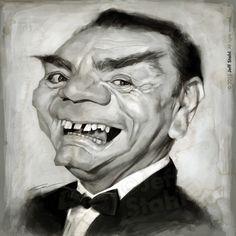 Ernest Borgnine (RIP), by Jeff Stahl by *JeffStahl