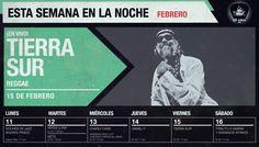 SEMANA DEL LUNES 11 AL SÁBADO 16 DE FEBRERO DE 2013 // Para reservas escribir a reservas@lanoche.com.pe. // http://www.lanoche.com.pe //  http://www.facebook.com/lanoche //  http://www.twitter.com/lanoche