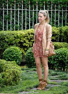 Printed Dress - Nati Vozza