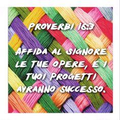 #successo #progetti #Bibbia #versetti #versettibiblici #Dio #Signore #Gesù #roma #radio #radiovocedellasperanza
