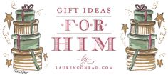 holiday gift ideas for the man in your life!