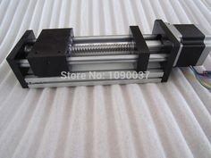 GGP 1605 550mm ball screw Sliding Table effective stroke Guide Rail XYZ axis Linear motion+1pc nema 23 stepper motor