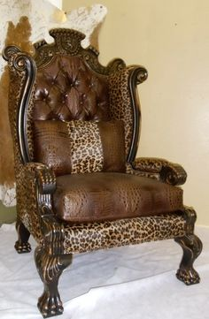 modern safari chair ! funny for an office !