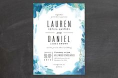 Gallery Abstract Art Wedding Invitations by Alethe... | Minted