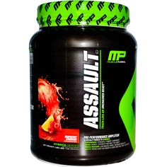 Groupon deal right now Muscle Pharm Assault...in my top 3 pre-workout list-I LOVE it! No jitters :)