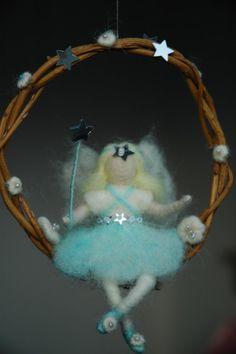 Snow Fairy - Needle Felted