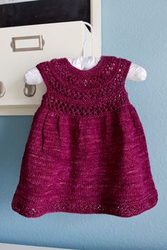 Ravelry: Mischa Baby Dress by Taiga Hilliard Designs