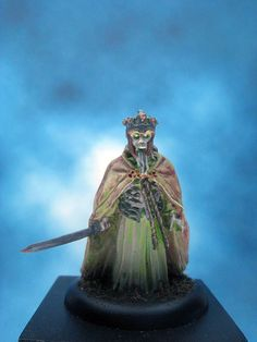 https://flic.kr/p/BJT6BR | Painted Games Workshop, Lord of the Rings, King of the Dead.