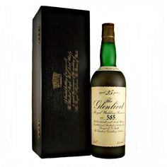 A very rare bottle of 25 year old Glenlivet bottled for Charles and Diana's Royal Wedding in 1981