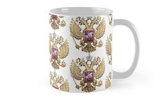 Russian Coat Of Arms by Igor Drondin #Mugs #russiancoatofarms #coatofarms #imperialeagle #russia #homemade #art #homedecor #giftidea #giftforhim #gift #gifts #giftideas #merchandise #onlinegift #babygift #giftshop #holidaypresents #giftsforalloccasions #presents #uniquegifts #personalizedgift #giftforher #giftforhim