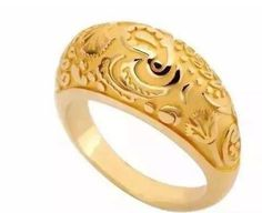 #rings #goldrings #puregoldrings #floralshapegoldrings #simplgoldrings Gold Jewelry Simple, Gold Rings Jewelry, Jewelry Design Earrings, Gold Earrings Designs, Gold Ring Designs, Gold Bangles Design, Gold Jewellery Design, Gold Finger Rings, Gold Wedding Rings
