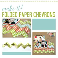 FOLDED CHEVRONS TECHNIQUE: THE TUTORIAL- BY JULIA STAINTON- How to make Folded Paper Chevrons- I'm super excited to be able to share my new Folded Chevrons Technique with you.  I wanted to create a chevron border but thought that there must be a better way.  Easy measuring cutting and folding will give you perfect chevrons and I love the super clean edges of the folded angles. To make this tutorial really easy to follow, I've created it in video form for you.