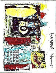 """""""Untitled"""" (Anti-Product postcard) 1980 By Jean Michel Basquiat"""