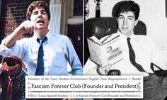Trump's Supreme Court pick Neil Gorsuch founded and led club called 'Fascism Forever' against liberal faculty at his elite all-boys DC prep school