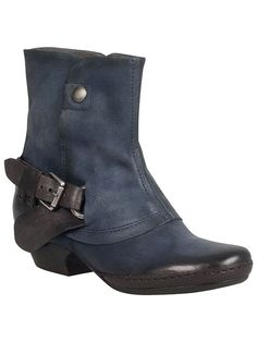 Miz Mooz Evelyn Boot in Navy, $184.95