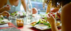 Image result for people eating in cafe