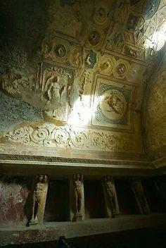 Bathe house Pompeii