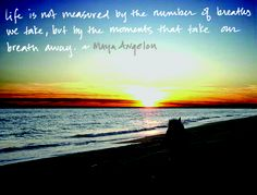 Maya Angelou. I have this quote in my house, but oddly enuff...I have taken a similar photo of myself as well.