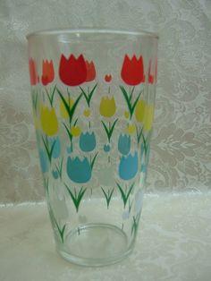Vintage Hazel Atlas Tulip Vase by SweetWhimsyThings on Etsy, $10.00