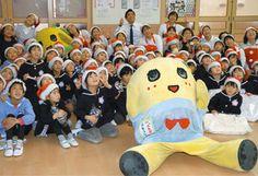 東京新聞:いい子にXマスプレゼントあげるなっしー ふなっしー、びっくり訪問:千葉(TOKYO Web)