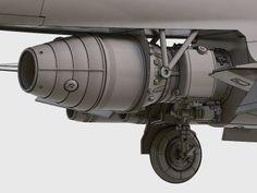 TS-11 Iskra - żywiczny silnik 1/48