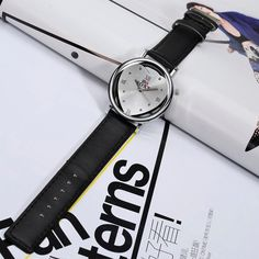 SOXY Women Watch Hollow Alloy Heart Leather Simple Watch  #women #fashion #jewelry #watches