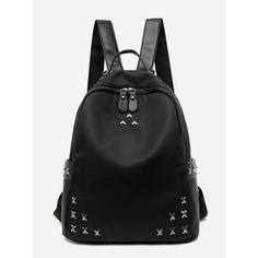 Cheap female school bags, Buy Quality school bags for teenagers directly from China bags for teenagers Suppliers: Women Backpacks Nylon Oxford Trendy Rivet Backpack Female School Bag For Teenagers Girls Travel Mochilas Famous Brands Rucksack Backpack Outfit, Backpack Bags, Leather Backpack, Fashion Backpack, Pu Leather, Travel Backpack, Mini Backpack, Laptop Backpack, Travel Bags