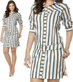 Cute Dresses, Casual Dresses, Fashion Dresses, Summer Dresses, Western Dresses, Classy Outfits, Striped Dress, Dress Patterns, African Fashion