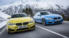 BMW M4 Coupe En Montanas