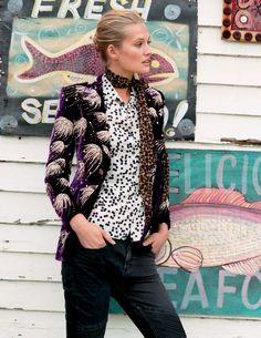 Lady Like: Toni Garrn By Matt Jones For Elle Italia February 2015
