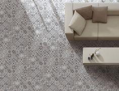 Victorian Design Rosemary Full Glazed Wall and Floor Tile - 30 x 30cm - £18.70/sqm