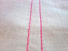 Weekend Wonders with Fabric.com: Machine Basting 101